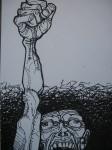 Obras de arte:  : España : Andalucía_Sevilla : sevilla : Indignado