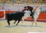 Obras de arte: Europa : España : Comunidad_Valenciana_Castellón : castellon_ciudad : Rejoneador