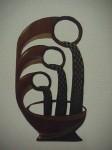 Obras de arte: America : Colombia : Cauca : Popayan : FUENTE - DE LA SERIE PRESAGIOS