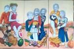 Obras de arte:  : Ecuador : Pichincha : Quito : AMARILLOBLANQUINEGRINDIO