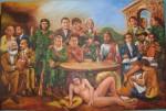 Obras de arte:  : Ecuador : Pichincha : Quito : CON CLAVE