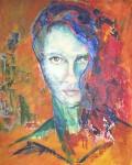 Obras de arte:  : Argentina : Buenos_Aires : san_antonio_de_areco : Dama de rojo