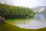 Obras de arte: Europa : España : Catalunya_Barcelona : Sabadell : El la orilla del lago