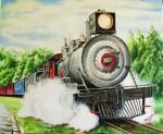 Obras de arte: America : Rep_Dominicana : Santiago : monumental : CHOO CHOO TRAIN