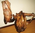 Obras de arte: Europa : España : Galicia_Pontevedra : Bayona : Elefante y su domadora