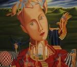 Obras de arte: Europa : España : Galicia_Pontevedra : Bayona : Renacer en un mundo nuevo