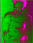 Obras de arte: America : Argentina : Mendoza : godoy_cruz : elvis presley in a magnetic field pure noise