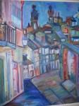 Obras de arte:  : España : Galicia_La_Coruña : Santiago_de_Compostela : Ciudad 5