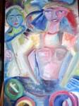 Obras de arte:  : España : Galicia_La_Coruña : Santiago_de_Compostela : Meninas circulares