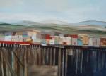 Obras de arte: America : Chile : Region_Metropolitana-Santiago : Santiago_de_Chile : Sobre la bahía