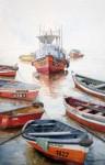 Obras de arte: America : Chile : Tarapaca : IQUIQUE : Los botes de Nereo