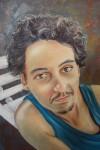 Obras de arte: America : Chile : Valparaiso :  : joven