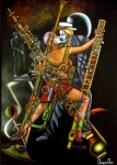 Obras de arte: America : Colombia : Santander_colombia : Bucaramanga : INTEGRACIONISMO MUSICAL - EURITMIA I