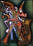 Obras de arte: America : Colombia : Santander_colombia : Bucaramanga : INTEGRACIONISMO MUSICAL - EURITMIA II