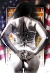 Obras de arte: America : México : Veracruz-Llave : Xalapa : Bandera vemos, identidades no sabemos, Serie