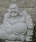 Obras de arte:  : España : Galicia_Pontevedra : Ribadumia : Budha de la prosperidad