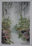 Obras de arte:  : España : Ceuta : ceuta_ciudad : Bosque en niebla