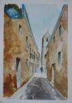 Obras de arte:  : España : Ceuta : ceuta_ciudad : Sola en la calle