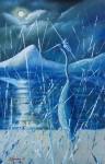 Obras de arte:  : Espa�a : Andaluc�a_Almer�a :  : Volavka v zime