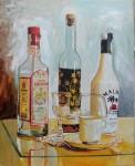 Obras de arte:  : España : Catalunya_Barcelona : barcelona-ciudad : Botellas de licor