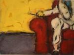 Obras de arte: America : Argentina : Buenos_Aires : Cuidad_Aut._de_Buenos_Aires : sillon rojo
