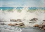 Obras de arte: America : Chile : Tarapaca : IQUIQUE : Voluntad de mar