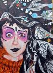 Obras de arte: Europa : España : Valencia : Xativa : cabeza loca