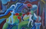 Obras de arte: Europa : Portugal : Lisboa : cascais : Auto-retrato II