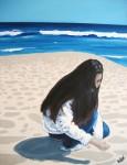 Obras de arte:  : España : Catalunya_Barcelona : Barcelona : A la platja
