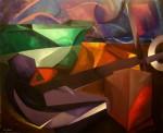 Obras de arte: Europa : España : Catalunya_Barcelona : Barcelona_ciudad : Anclado a la vida