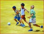 Obras de arte:  : España : Andalucía_Sevilla : sevilla : jugando con los amigos