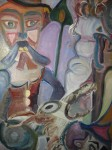 Obras de arte:  : Espa�a : Galicia_La_Coru�a : Santiago_de_Compostela : Hombre y drag�n
