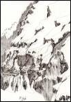 Obras de arte:  : Espa�a : Principado_de_Asturias :  : caranorte del monte perdido