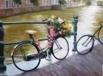 Obras de arte: America : Argentina : Buenos_Aires : ADROGUE : Una bici hippie