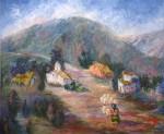 Obras de arte: America : Argentina : Salta : Salta_ciudad : Casas de pastores - Valles Calchaquíes, Salta
