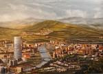 Obras de arte: Europa : España : Euskadi_Bizkaia : Bilbao : DESDE ARTXANDA-BILBAO