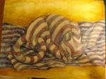 Obras de arte:  : México : Jalisco :  : Siesta a rayas