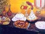 Obras de arte: Europa : Italia : Sicilia : Palermo : tavola imbandita