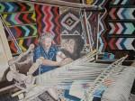 Obras de arte: Europa : Italia : Sicilia : Palermo : donna madonita al telaio