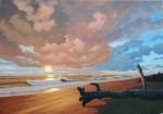 Obras de arte: America : Cuba : Matanzas : naranjal : ´´crepusculo de unaera´´