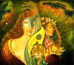 Obras de arte:  : Chile : Araucania : Villarrica : Misterio Veneziano