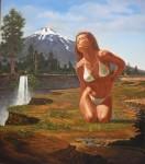 Obras de arte:  : Chile : Araucania : Villarrica : Julie