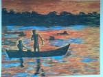 Obras de arte: America : Argentina : Chaco : resistencia : Pesca