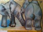 Obras de arte:  : Nicaragua : Managua :  : Elefantes