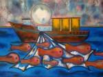 Obras de arte:  : Nicaragua : Managua :  : Pescando Ilusiones