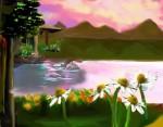Obras de arte:  : Brasil : Espirito_Santo :  : Amanhecer sobre a lagoa