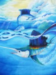 Obras de arte:  : Panamá : Colon-Panama : Panamá_Ciudad : PEZ AGUJA