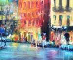 Obras de arte: America : Argentina : Buenos_Aires : ADROGUE : Afuera llueven colores