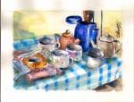 Obras de arte: America : Costa_Rica : San_Jose :  : Desayuno tico.