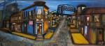 Obras de arte: Europa : Italia : Calabria : lameziaterme : bar caminito